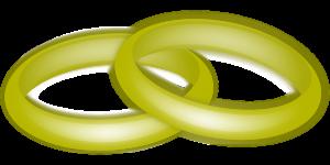 טבעות בצבע זהב