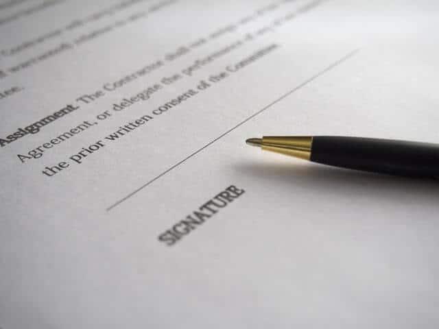 מסמכים משפטיים