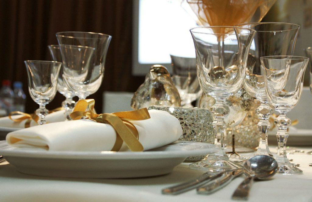 שולחן בגן אירועים