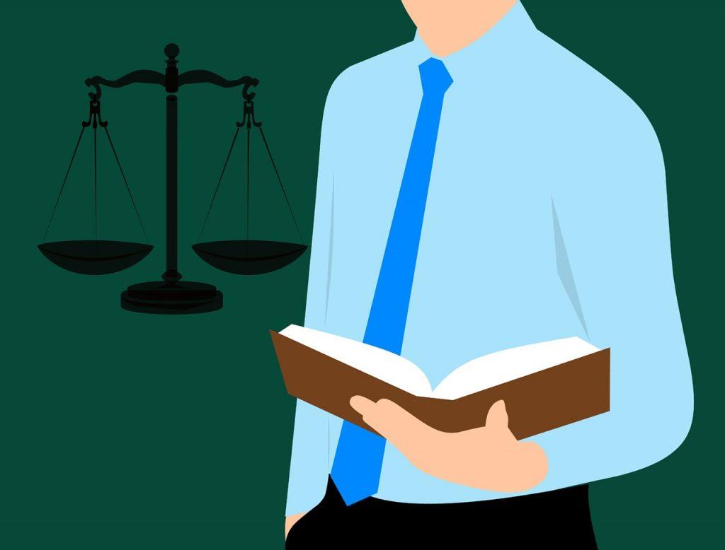 עורך דין עם ספר