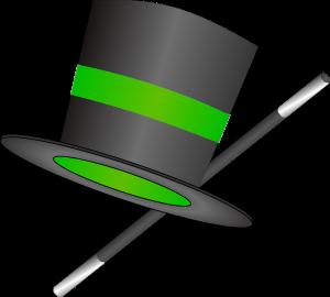 מקל קסמים וכובע